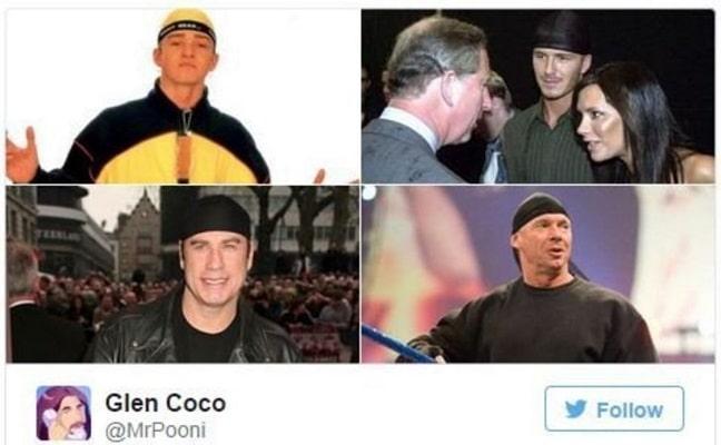 4 celebrites portant un durag